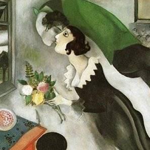Chagall, 1915. El cumpleaños