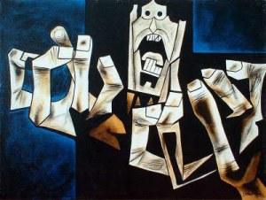 Oswaldo Guayasamín (1968) La edad de la ira