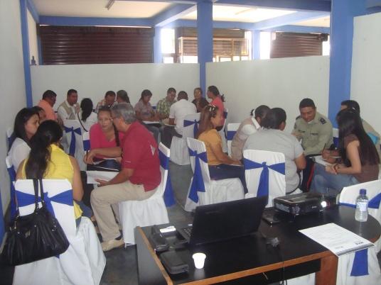 Taller en Guasdualito organizado por HIAS